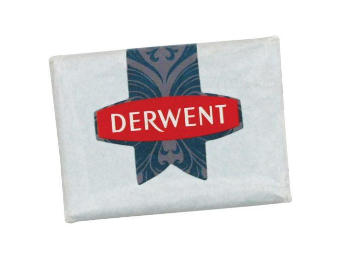 Dzēšgumija Derwent ogles