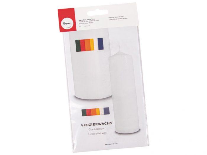 Vaškinis lakštas žvakėms  5×10 18vnt. įvairių spalvų - 1/2