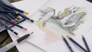 Akvarellpliiats Derwent