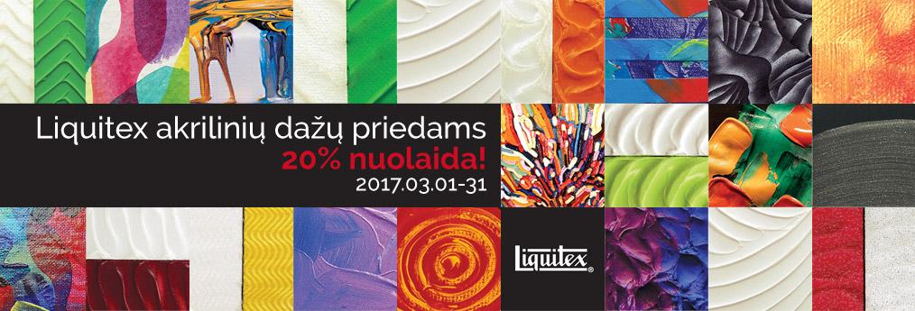 Liquitex akriliniai dažaia adds