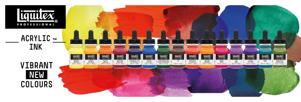 Acrylic ink Liquitex