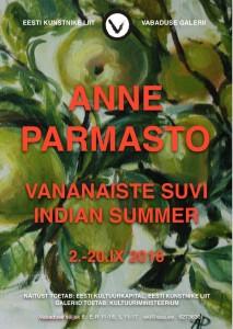 "Anne Parmasto ""Vananaiste suvi"""