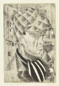 Apašš, 1923. Eduard Wiiralt (1898–1954). Eesti Kunstimuuseum